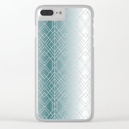 Silver Decor Clear iPhone Case