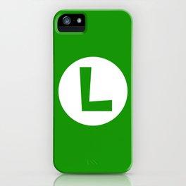 Nintendo Luigi iPhone Case