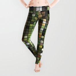 Cactus Garden Mosaic Leggings