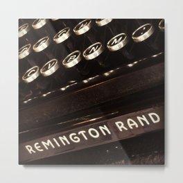 Remington Rand Metal Print
