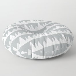 Scandinavian Trees | gray Floor Pillow