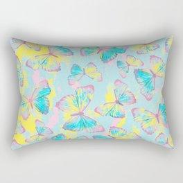 BUTTERFLIES YELLOW Rectangular Pillow