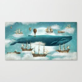 Ocean Meets Sky - revised Canvas Print