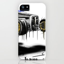 Fuller rod floar iPhone Case