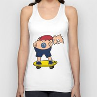 volkswagon Tank Tops featuring Bart Hole by BulldawgDUDE