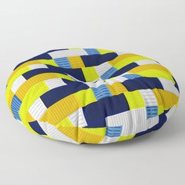 Containers White Floor Pillow