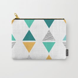 Triangles 1 Carry-All Pouch