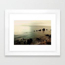 Indian Beach Framed Art Print