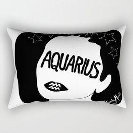 Aquarius Kiss Rectangular Pillow