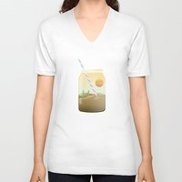 oasis V-neck T-shirts featuring Oasis  by Moremo