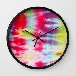 Tie Dye 011 Wall Clock