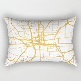 COLUMBUS OHIO CITY STREET MAP ART Rectangular Pillow