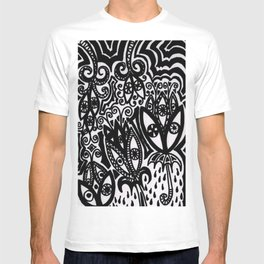 Flowers in the Rain Forest. T-shirt