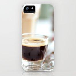Fresh Espresso iPhone Case
