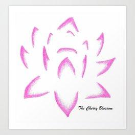 Fiore di loto Art Print