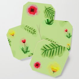 Countryside ferns Coaster
