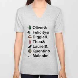 Arrow Names Unisex V-Neck
