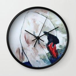 The swan Wall Clock