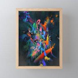 Glow Framed Mini Art Print