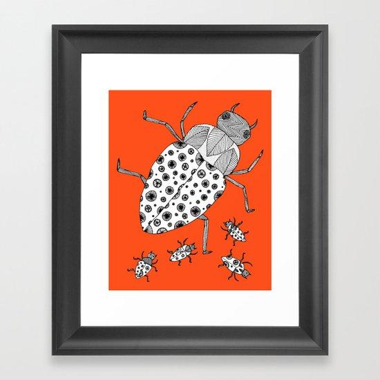 Roach Family Framed Art Print