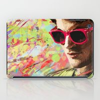 darren criss iPad Cases featuring Colourful Darren Criss by Ines92
