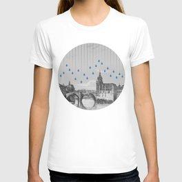 La lluvia en Bilbao es una pura maravilla T-shirt
