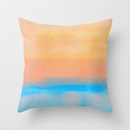 Beachscape 1 Throw Pillow