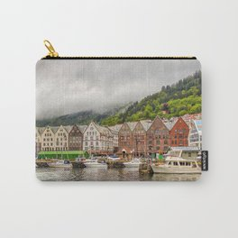 Bergen Village Norway Landscape Carry-All Pouch