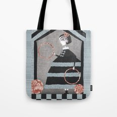 The Red Rings Tote Bag