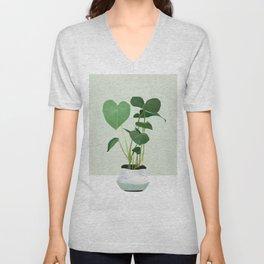 Plant 3 Unisex V-Neck