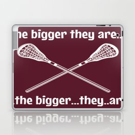 the bigger they are Laptop & iPad Skin