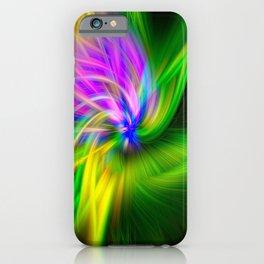 Grape Hyacinth Twirl iPhone Case