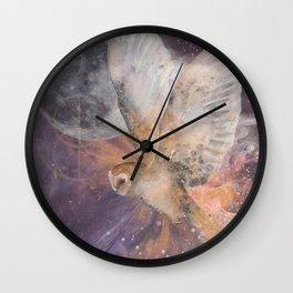 Divine Owl Wall Clock