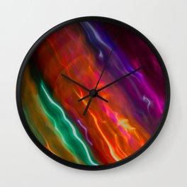 Light Trail Wall Clock