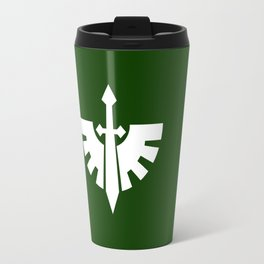 Warhammer 40k Dark Angels Minimalist Print Travel Mug