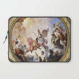 Fresco on Ceiling in Paris Laptop Sleeve