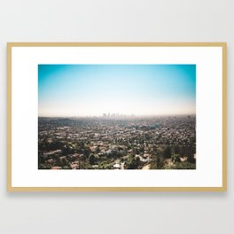View of the Angels Framed Art Print
