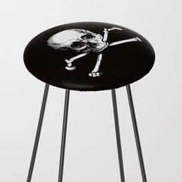 Skull and Crossbones | Jolly Roger Counter Stool