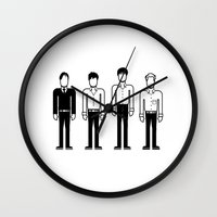 joy division Wall Clocks featuring Joy Division by Band Land