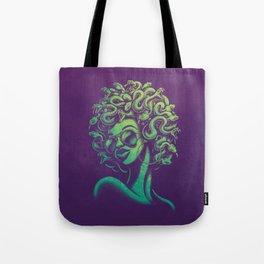 Funky Medusa Tote Bag