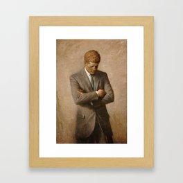 John F. Kennedy Framed Art Print
