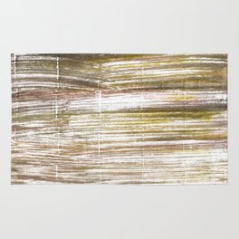 Beaver abstract watercolor Rug