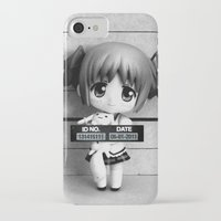 madoka magica iPhone & iPod Cases featuring MADOKA LINEUP by Christophe Chiozzi