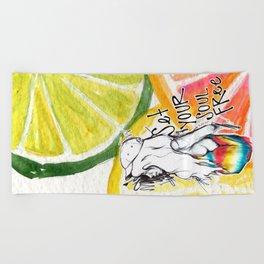 #STUKGIRL Ivie Beach Towel