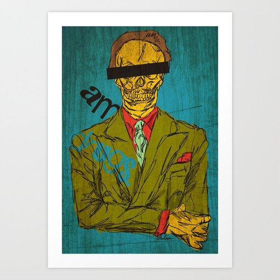 I Am Drugs Art Print