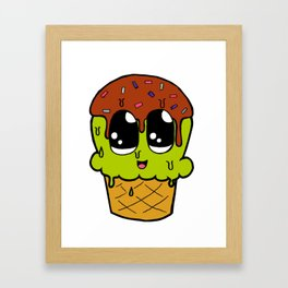 Ice cream Madness - Pt 1 Framed Art Print
