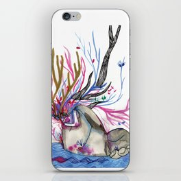 The nature woman iPhone Skin