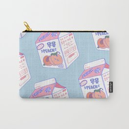 Peach Milk Carry-All Pouch