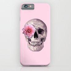 FLOWER SKULL iPhone 6s Slim Case