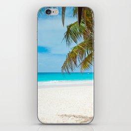 Turquoise Tropical Beach iPhone Skin